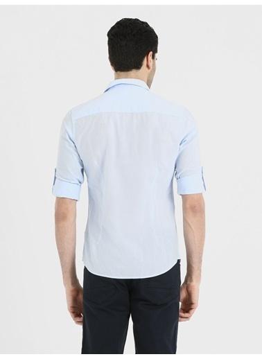 Loft Uzun Kollu Gömlek Mavi